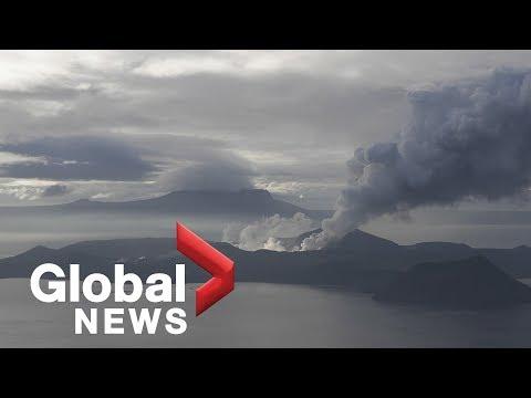 Philippines' Taal volcano