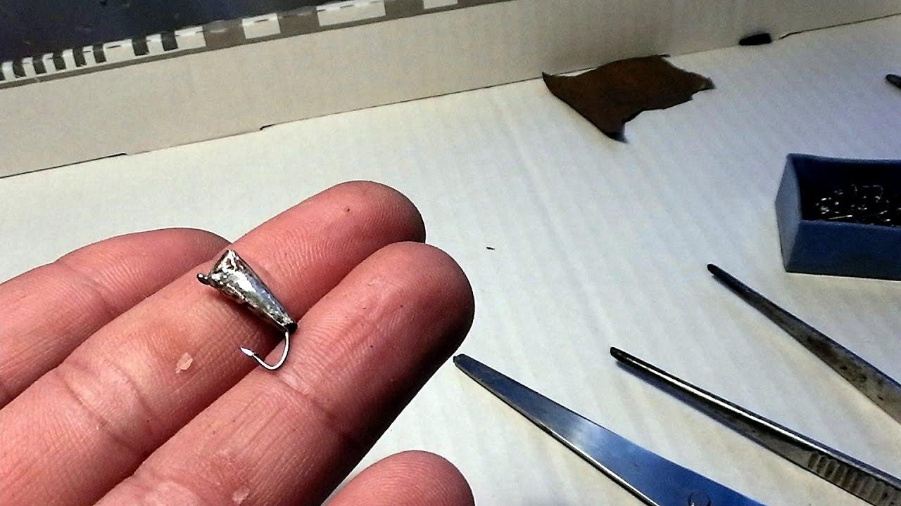 Как изготовить мормышки своими руками
