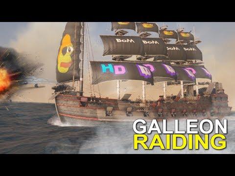 GALLEON RAIDING - ATLAS (OFFICIAL PVP) -EP.10
