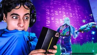 ON DISCOVER THE CUBE MYSTERIES WITH MY SKIN ON FORTNITE BATTLE ROYALE !!!