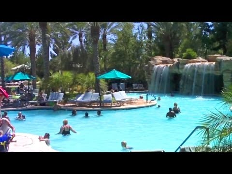 Awesome Swimming Pool Area - JW Marriott, Las Vegas Nevada-USA Travel