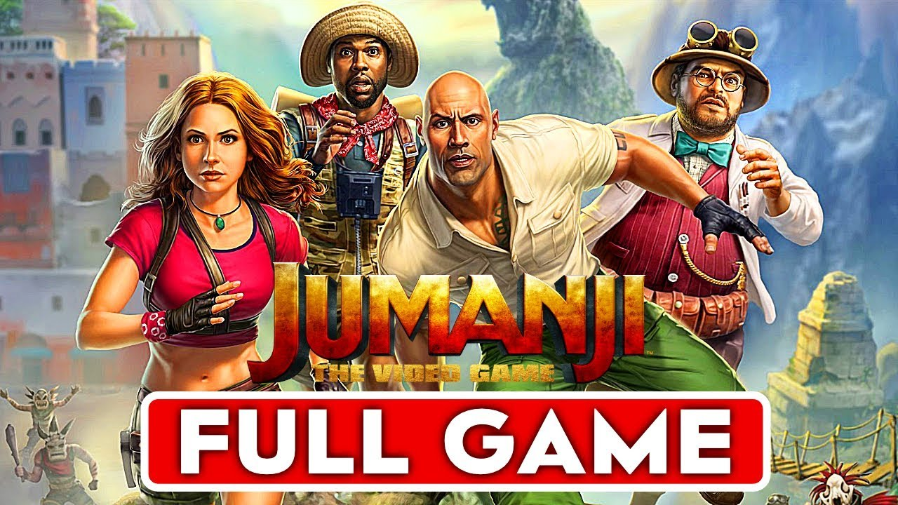 Jumanji The Video Game Gameplay Walkthrough Part 1 Full Game 1080p Hd Xbox One No Commentary Youtube