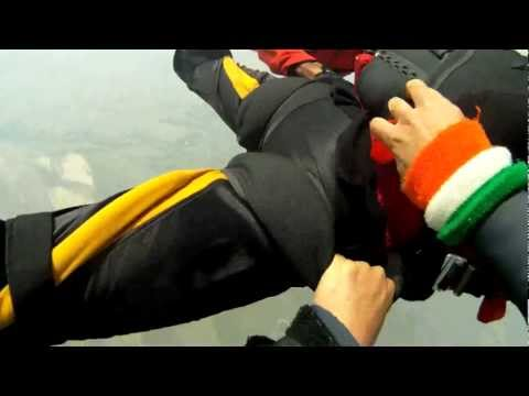 Indian Army sky diving team