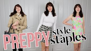PREPPY STYLE STAPLES for women | A guide to the hallmarks of classic style