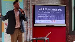 Reddit Marketing Strategy aฑd Tips - Startup Week Detroit - Live Presentation Recording