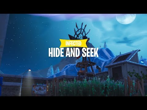 Infected Hide & Seek Gamemode - Fortnite Creative