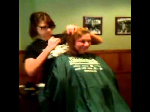 mom gets shaved
