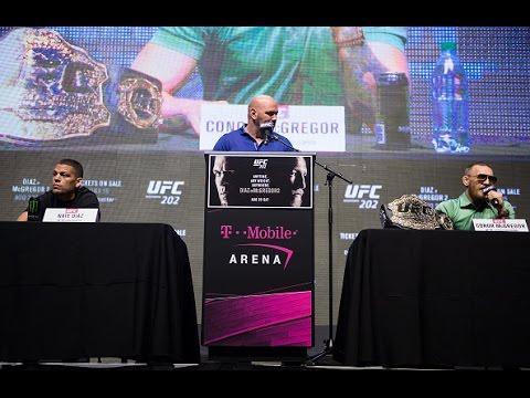 UFC 202: Pre-fight Press Conference