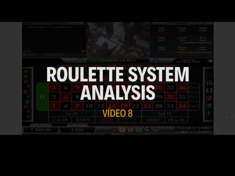 Roulette System Analysis - Vídeo 8 - Double Cycle - Single Bet - 600 Profit - 20 Spins