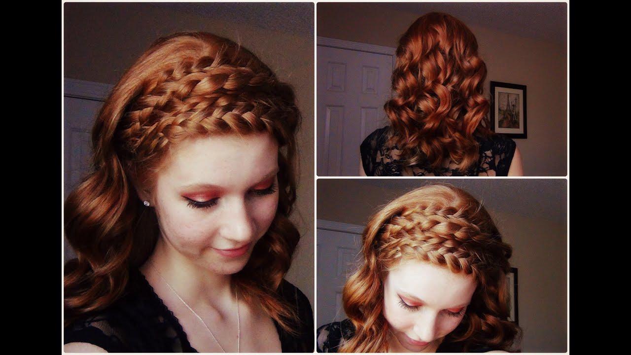Catching Fire Katniss Everdeen Inspired Hair Tutorial YouTube