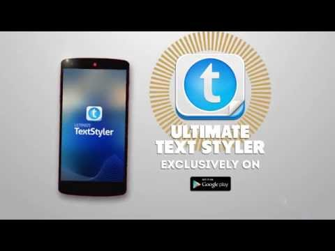 Ultimate Text Styler - Android Application