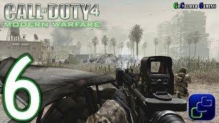 Call Of Duty 4: Modern Warfare Walkthrough - Part 6 - Act I: Death from Above, War Pig