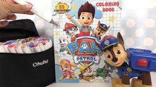 Pat' Patrouille Coloriage Loisirs Créatifs 🌸 Paw Patrol Coloring Book