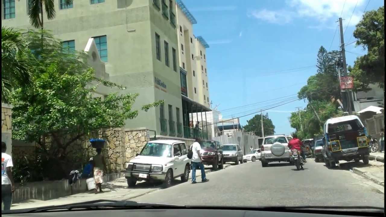 A View Of Petionville Port Au Prince Haiti Youtube