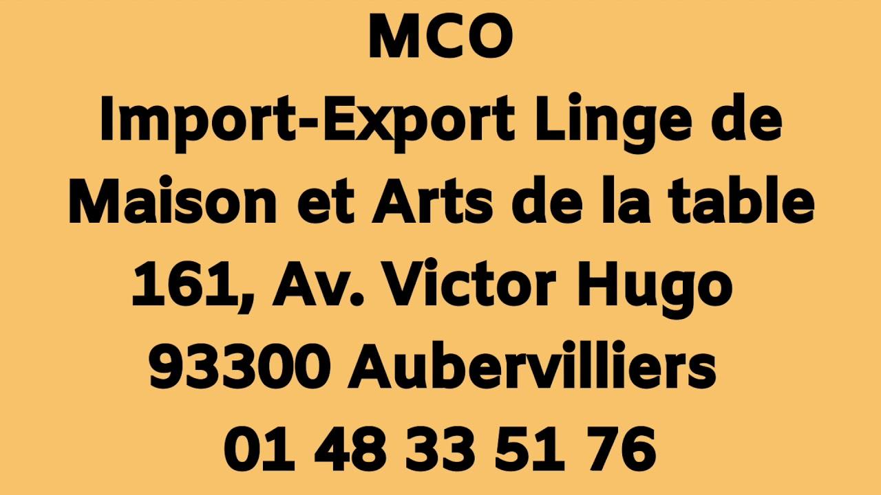 Aubervilliers Grossiste Linge De Maison import-export-fabrication linge de maison linge de table aubervilliers