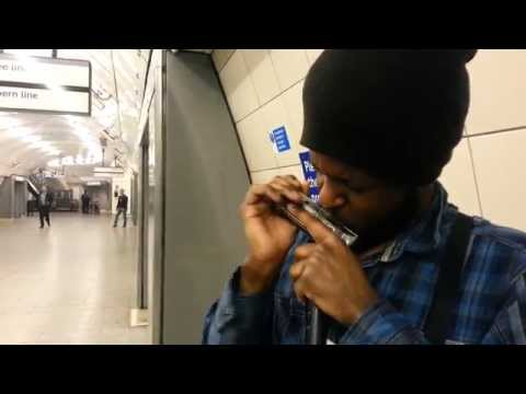 Schindler's List Played on a Harmonica by Philip Achille, London Underground