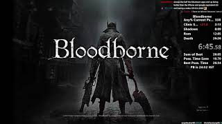 Bloodborne Any% Speedrun in 24:23 (World Record/Current Patch)