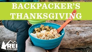 Backpacking Recipes: Thanksgiving in a ...