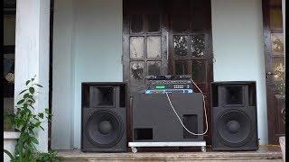 Dựng loa bass 40 KHỦNG