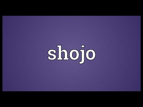 Shojo Meaning