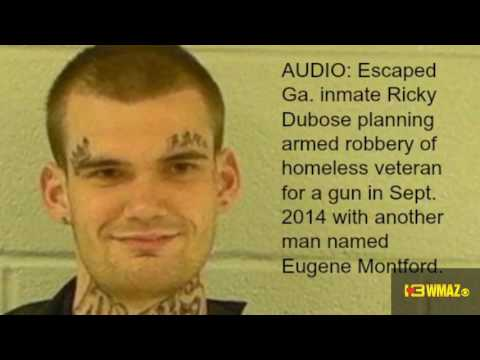 Audio of escaped Georgia prisoner planning 2014 armed robbery