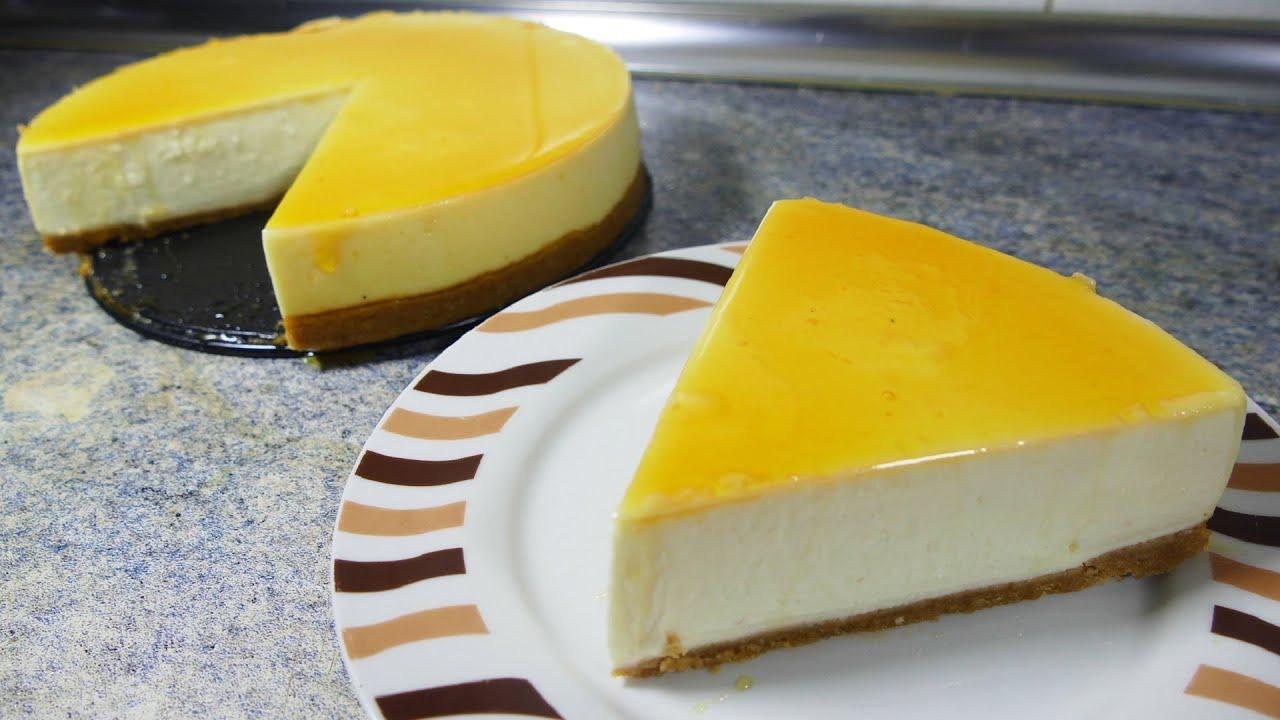 Tarta de queso philadelphia y caramelo recetas de - Postres ligeros y rapidos ...