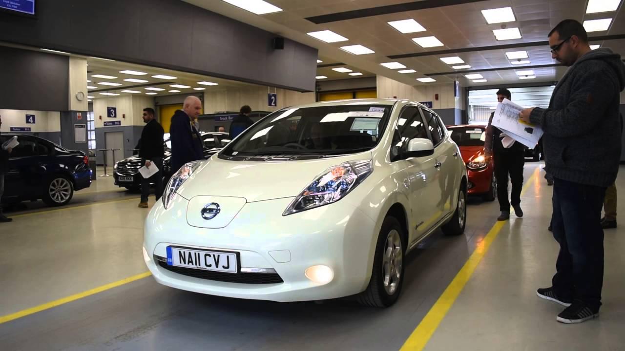 Nissan Leaf Auction 2017