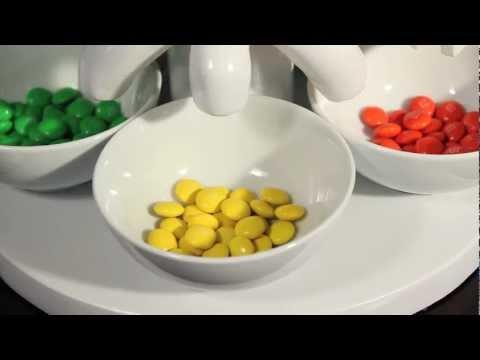 Skittles sorting machine, version 3