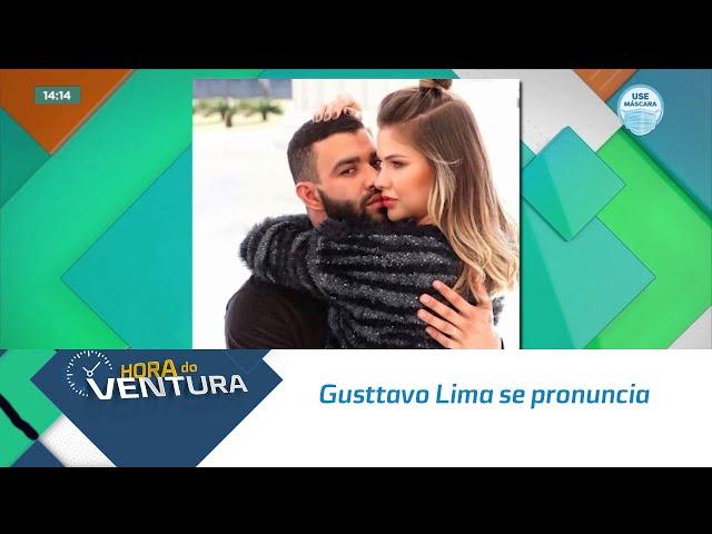 Gusttavo Lima se pronuncia e diz que tentou de tudo para manter casamento