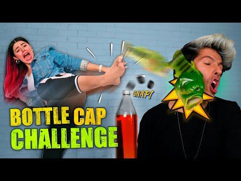 RETO DE LA BOTELLA | BOTTLE CAP CHALLENGE