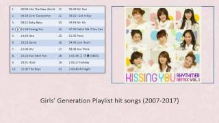 Girls' Generation 소녀시대 Playlist hit songs (2007-2017) Mp3