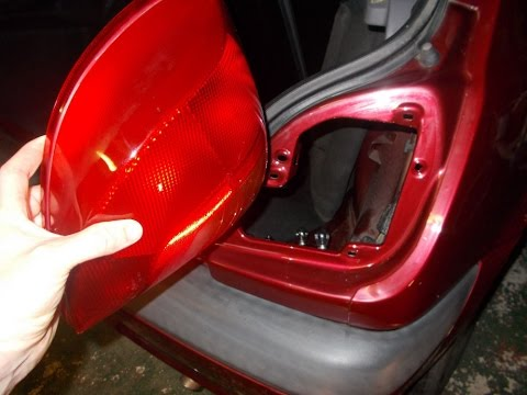 Ford Fiesta Rear Light Cluster Change