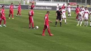 U17 Jhg2003 VfB Stuttgart - 1. FSV Mainz 05 1:4; B-Junioren-Bundesliga Süd SW 24.08.19
