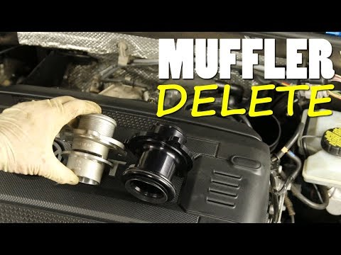 MK7 Turbo Muffler Delete Install DIY