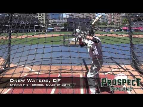 Drew Waters Prospect Video, OF, Etowah High School Class of 2017