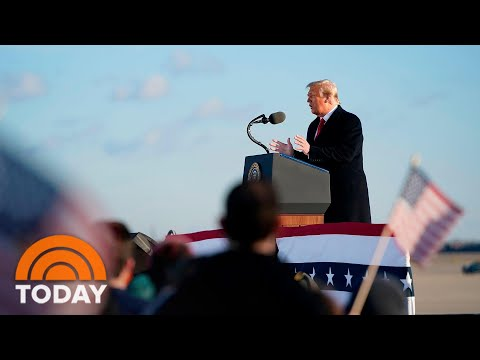 Trump In Final Remarks: 'I Wish This New Administration Great Luck' | TODAY