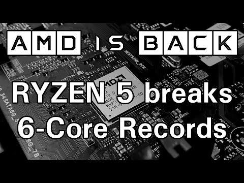AMD is BACK! Ryzen 5 breaking 6-Core records. OC to 5905 MHz (6C/12T)