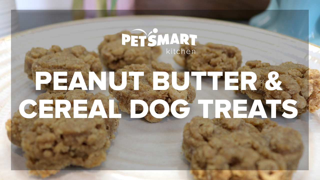 PetSmart Kitchen Peanut Butter Cereal Dog Treats
