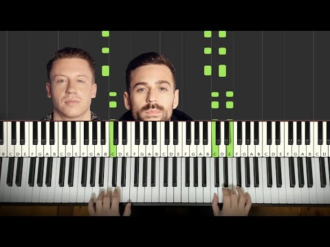 Macklemore And Ryan Lewis - Can't Hold Us (Piano Tutorial Lesson)