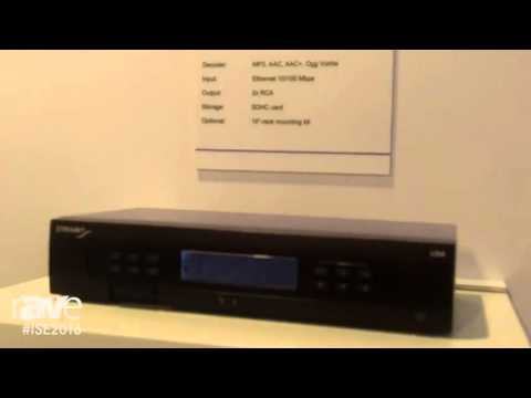 ISE 2016: Streamit Displays Lisa LCD Audio Player