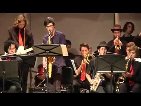 Sean Gordon, El Camino Real Jazz Concert 2014