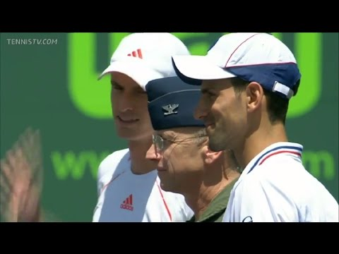 8 - Djokovic vs Murray - Miami Master 1000 - Final 2012 -- Full Match