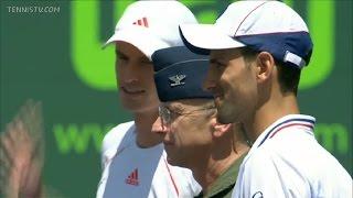 8 - Djokovic vs Murray - Miami Master 1000 - Final 2012 -- Full Match