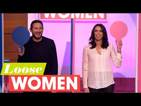 Christine and Frank Lampard Play Mr and Mrs | Loose Women