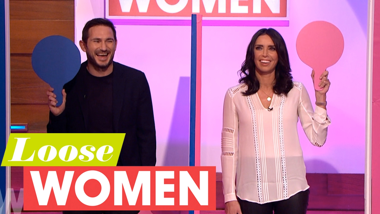 Christine And Frank Lampard Play Mr And Mrs Loose Women Youtube