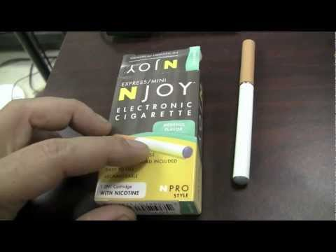 (18+ adult video) What I think about electric cigarettes vaping njoy