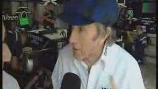 Jackie Stewart talks about Grand Prix Legends Game ENGLISH