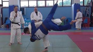 """Judo Koji Komuro """"Uchi mata Reverse"""" Montebelluna (TV) 29 dic. 2016"""