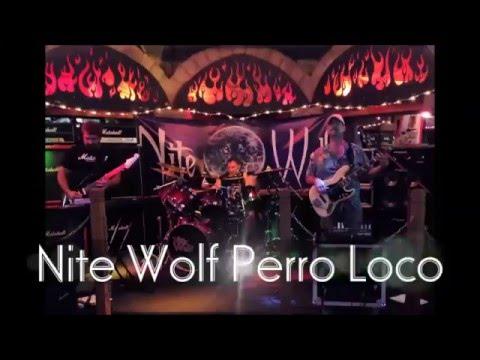 Danny Vash & Nite Wolf 'Perro Loco' Hard Rock Instrumental
