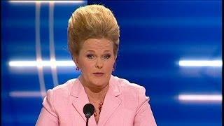 Sissela Kyle är från gnällbältet, men positiv - Parlamentet (TV4)